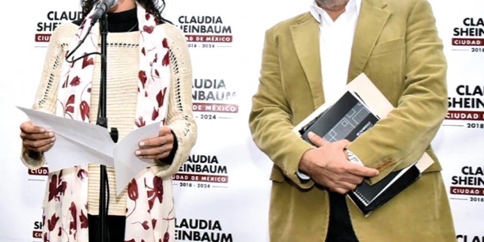 Presenta Claudia Sheinbaum a titular de Sacmex