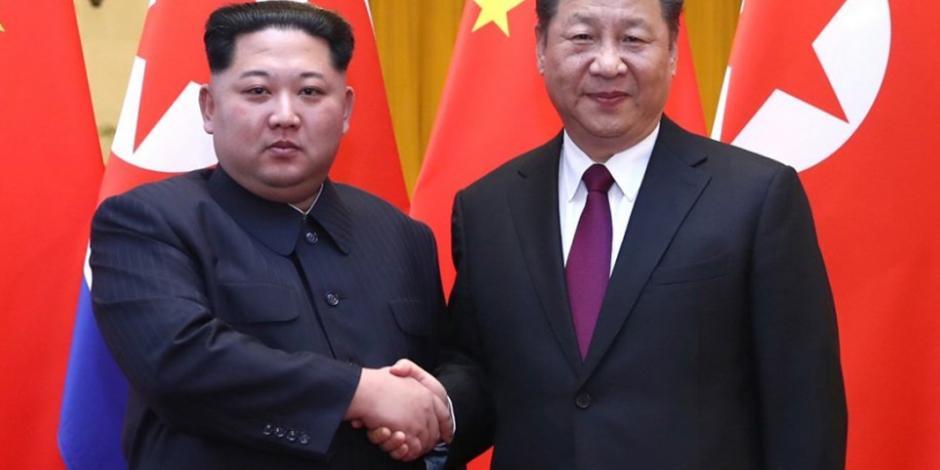 En su primera salida de Norcorea, Kim se reúne con el presidente chino Xi Jinping