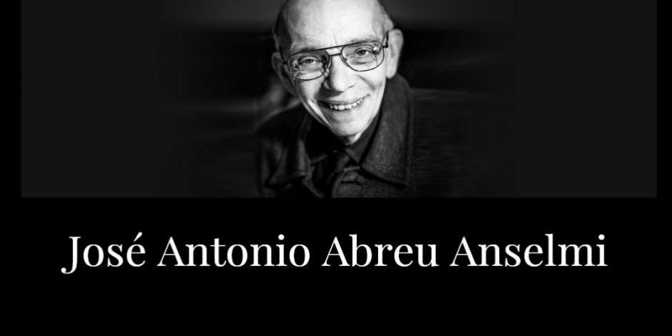 Muere José A. Abreu, creador de sinfónicas de Venezuela