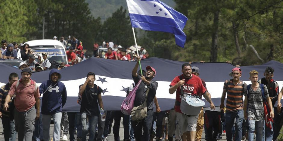 Trump da manotazo a caravana migrante; detienen a su líder