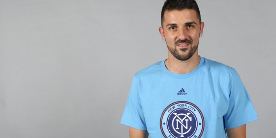 David Villa anuncia que dejará el New York City Football Club