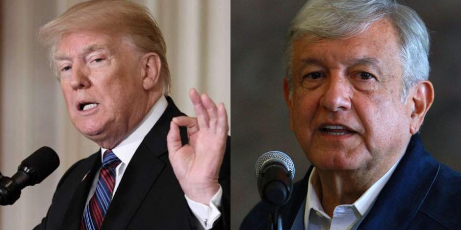 Conversación Trump-AMLO fue sobre relaciones positivas: Casa Blanca