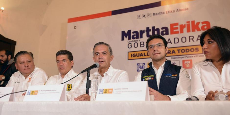 En Puebla, Mancera pugna por un gobierno de coalición