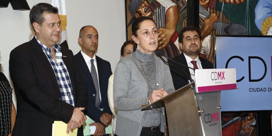 Amieva y Sheinbaum acuerdan fortalecer acciones por 19-S