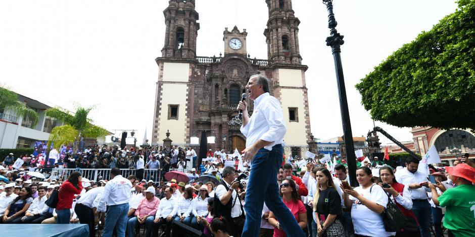 Anuncian cierre de campaña de Meade en Coahuila