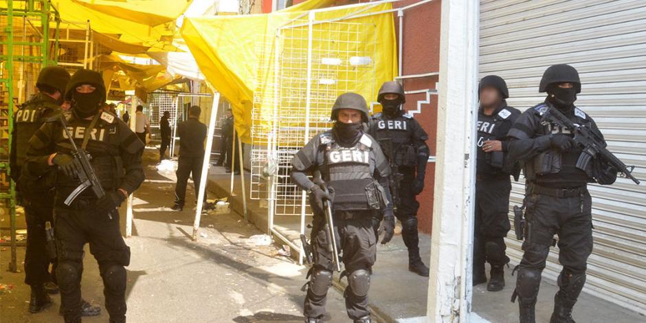 Procesan a 39 por narcomenudeo en la Ciudad de México