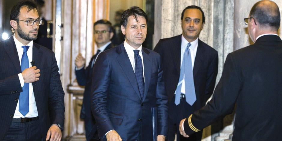 Giuseppe Conte asume como primer ministro de Italia