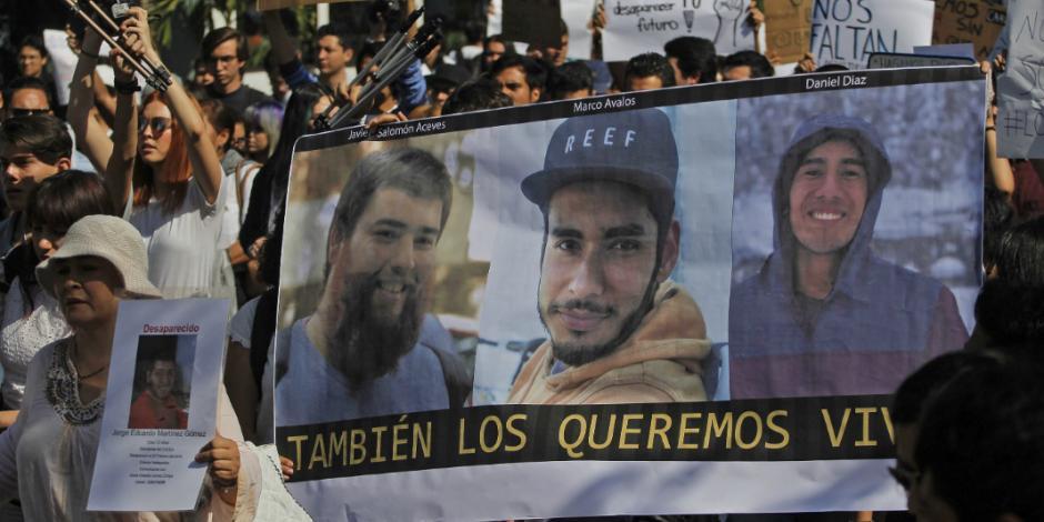 Descarta Fiscalía secuestro en caso de estudiantes de cine desaparecidos en Jalisco