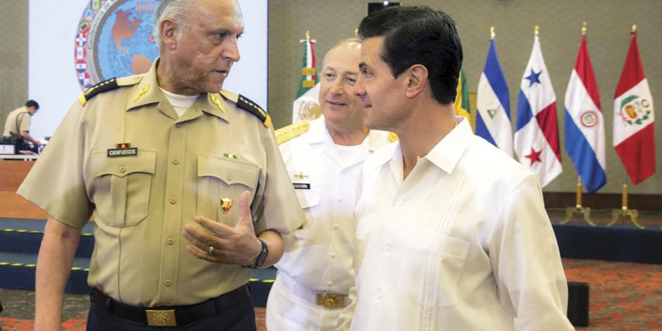 EPN reconoce a Fuerzas Armadas por mejorar seguridad en zonas de riesgo