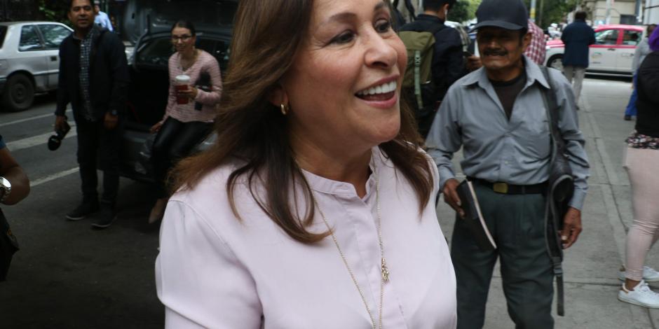 Senado aprueba licencia indefinida de Rocío Nahle