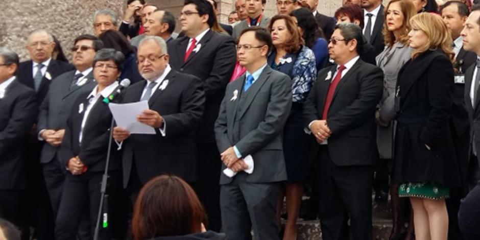Rechazan magistrados y jueces que vivan del abuso del erario público