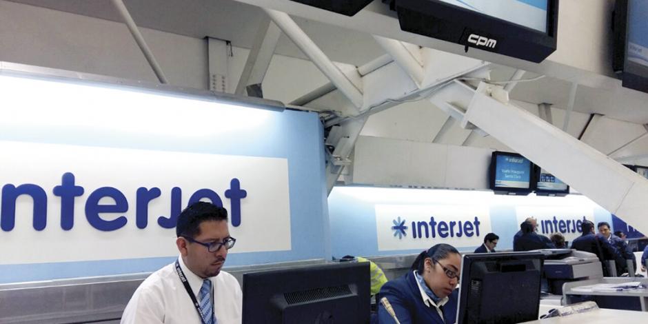 Interjet aumenta 15% de pasajeros transportados, comparado con 2017
