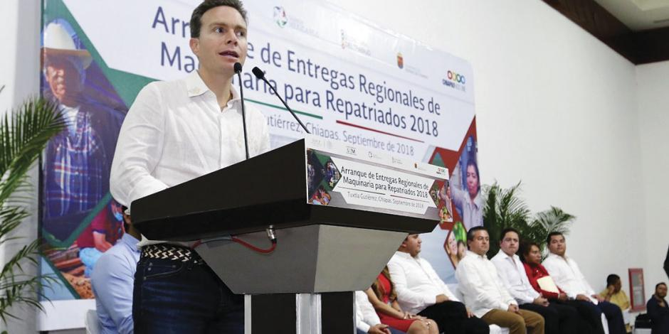 Chiapas apoya a repatriados de Estados Unidos