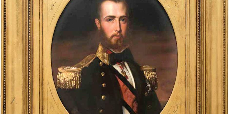 Por 90 mil pesos, cuadro de Maximiliano está a la venta