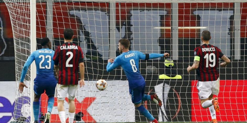 Arsenal da el golpe con victoria en la cancha del Milan