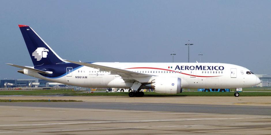 Por turbosina cara, Aeroméxico cerrará rutas en 2019