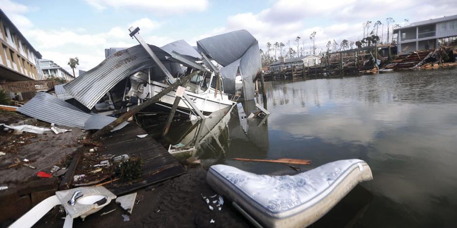 Huracán Michael golpea a los más pobres de Florida