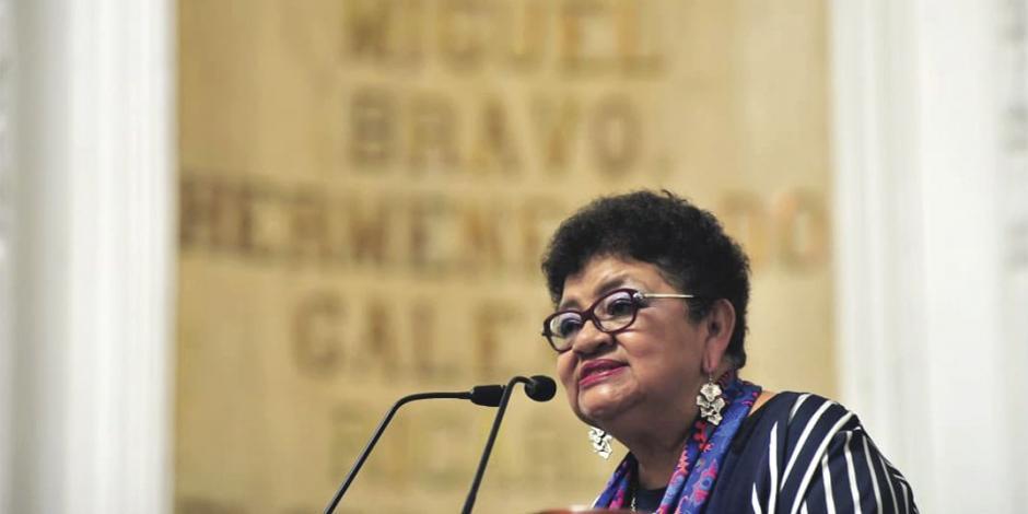 Con Mancera la corrupción dominó: Ernestina Godoy