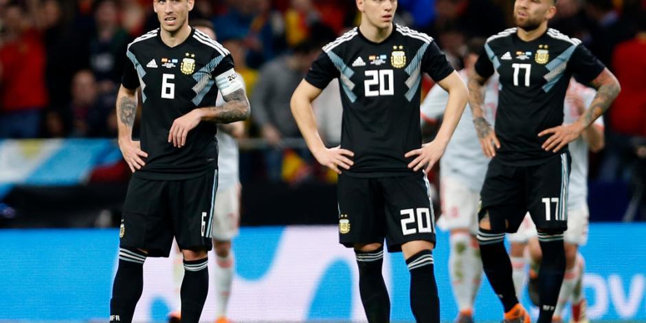 Argentina suma otra derrota histórica: cae 6-1 ante España