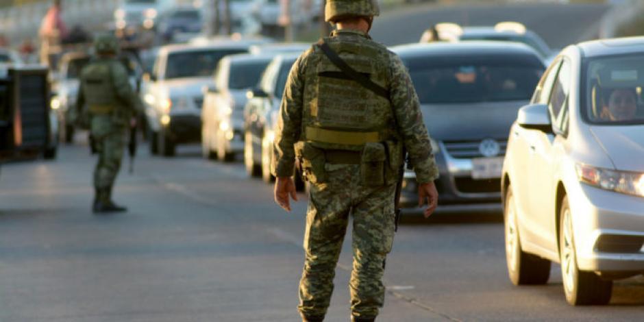 Implementan operativo contra criminales disfrazados de militares en Edomex