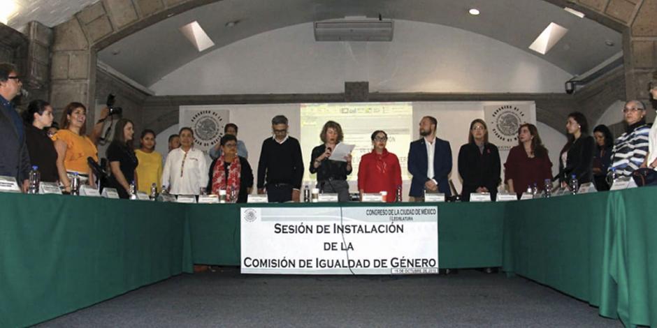Congreso capitalino alerta por feminicidios en 4 alcaldías