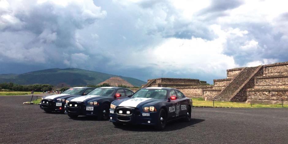 Vigilan en Semana Santa 9 mil policías federales