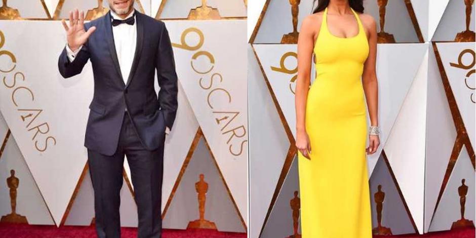 Mexicanos brillan en la alfombra roja de los Oscar