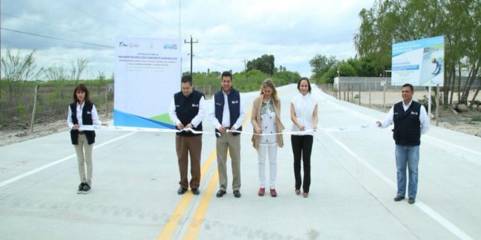 Reynosa estrena obras públicas con inversión de 22 mdp