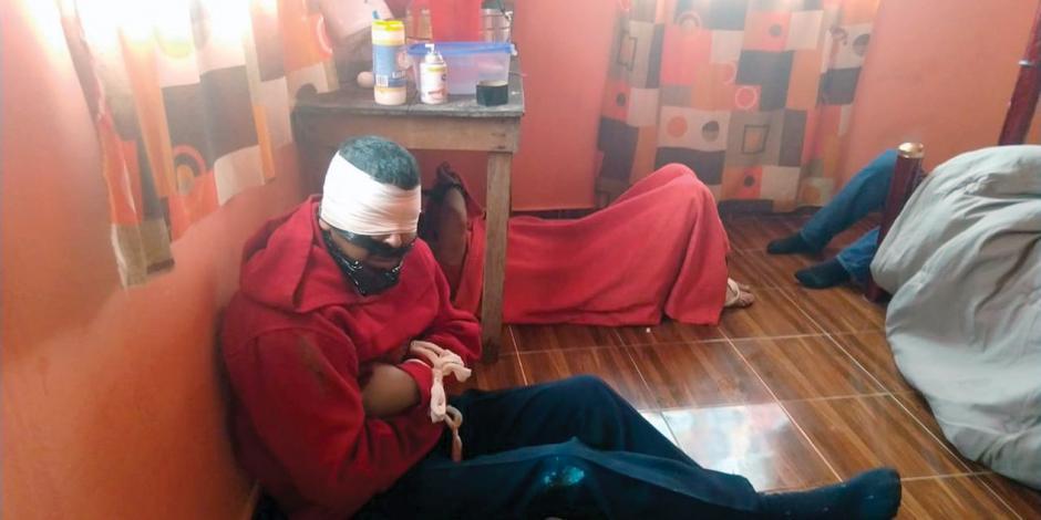 Liberan a 6 secuestrados en el Edomex