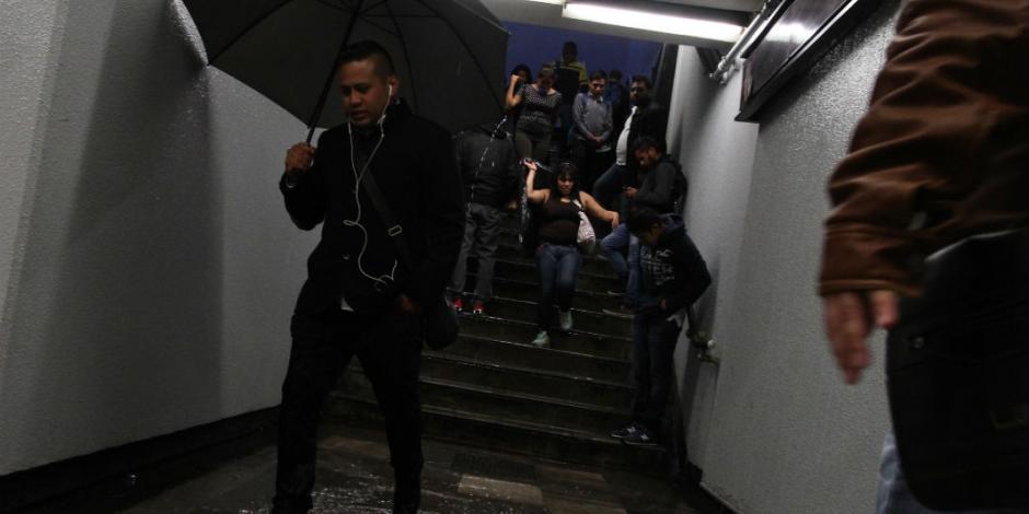 Alistan mil 600 equipos especiales para hacer frente a lluvias en el Metro