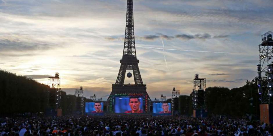 Francia prohíbe pantallas gigantes durante Mundial por terrorismo