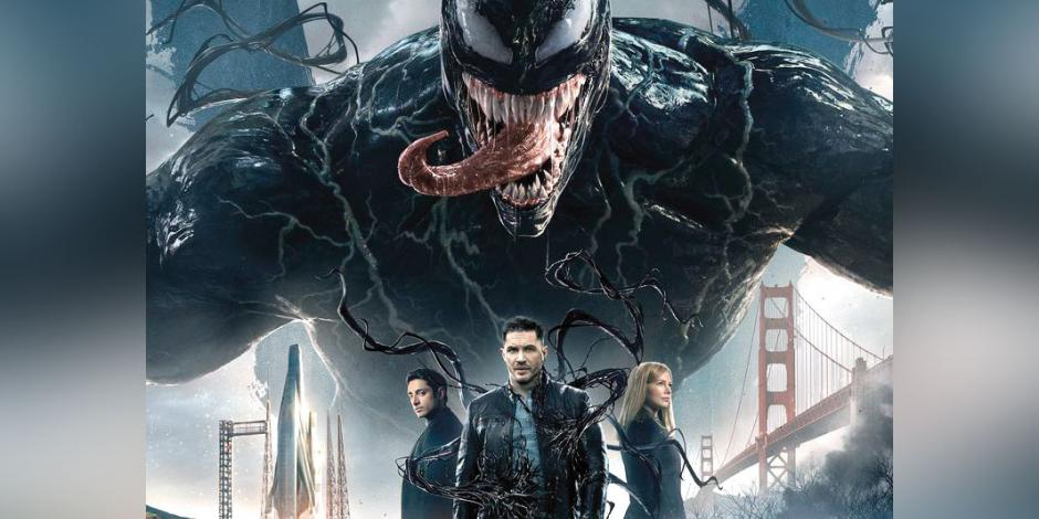 Venom sólo sorprende con escenas de acción