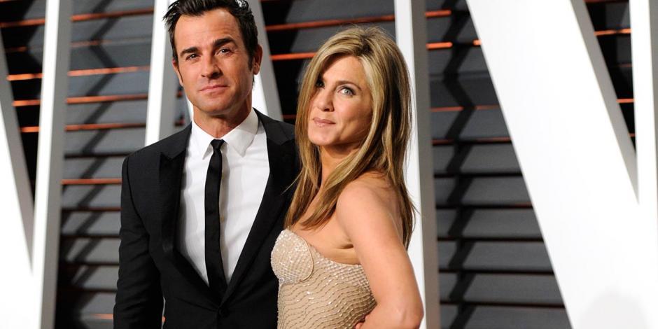 Jennifer Aniston y Justin Theroux anunciaron su separación