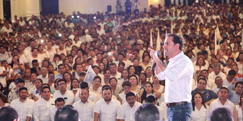 Llegó la hora de alcanzar todo el potencial de Yucatán: Vila Dosal