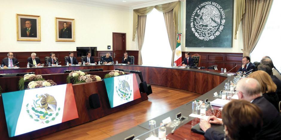 EPN y gabinete acuerdan cierre de proyectos y entrega-recepción a nuevo gobierno