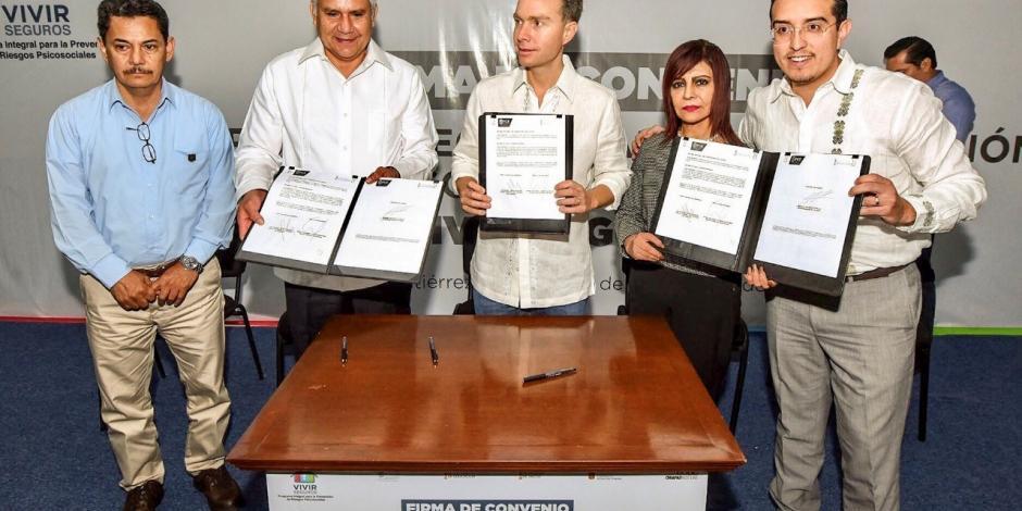 "Chiapas implementa ""Vivir Seguros"" para prevenir violencia estudiantil"