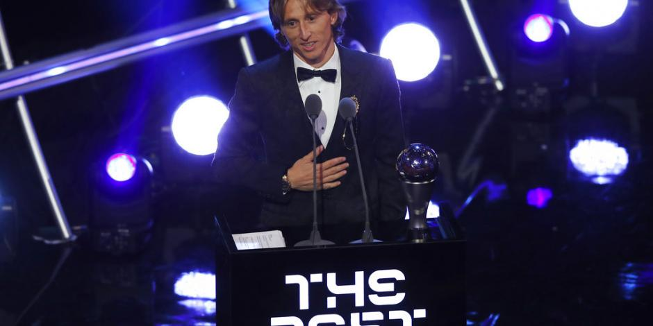 Luka Modric desbanca a Ronaldo y a Messi como
