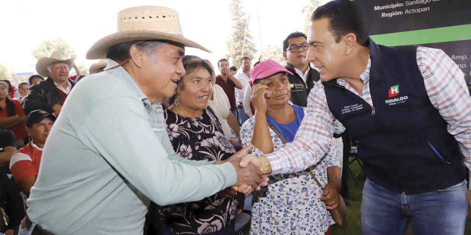 Amplían red eléctrica en Hidalgo
