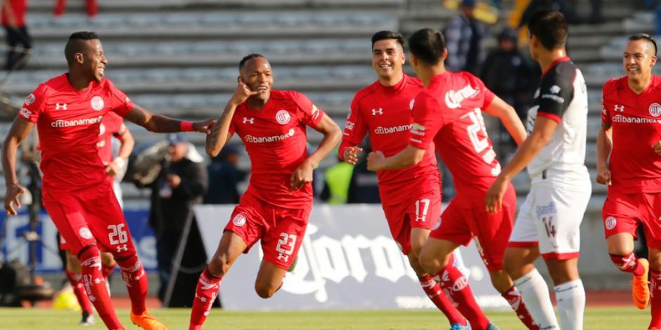Toluca vence 2-1 a BUAP y es nuevo líder general del Torneo Clausura