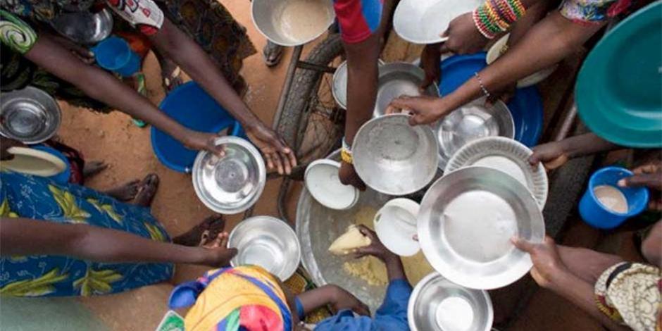 Crece hambre por cambio climático y afecta a 821 millones de personas