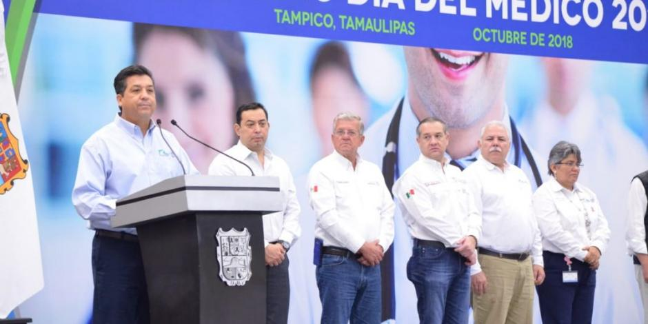 Respaldan médicos de Tamaulipas la política de salud de Cabeza de Vaca