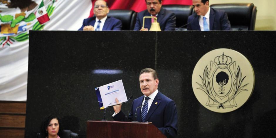 Destaca Rosas Aispuro en 2º informe baja de delitos y mejor deuda