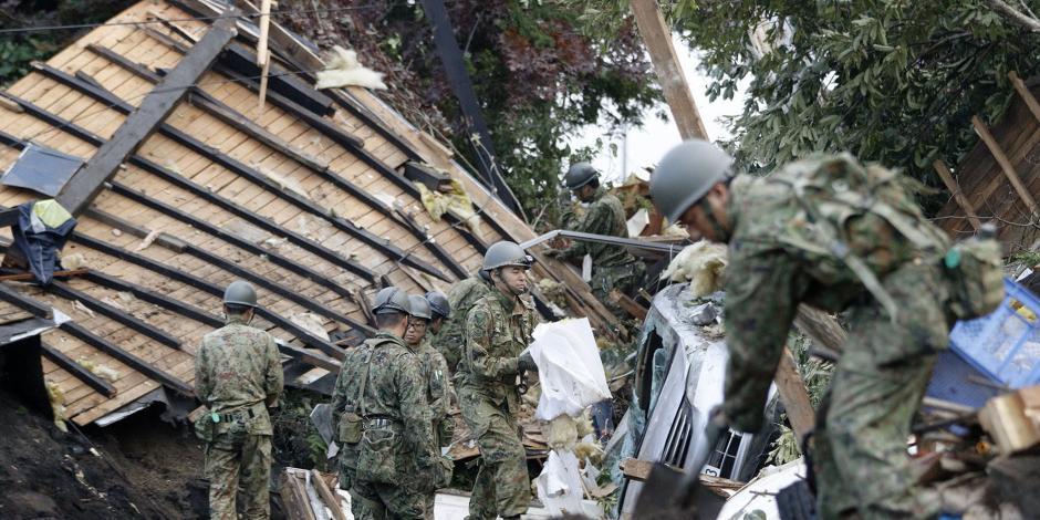 FOTOS: Mueren 39 personas por sismo en Japón
