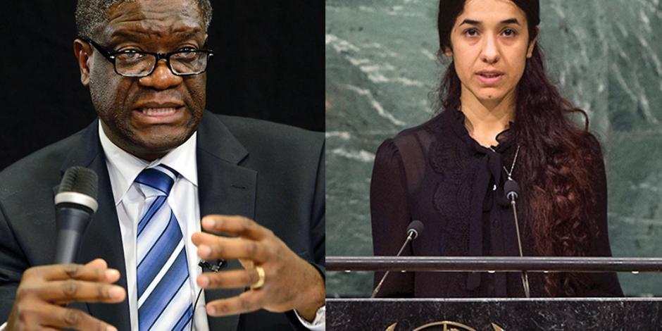 El Nobel de la Paz, a la lucha contra la violencia sexual como arma de guerra