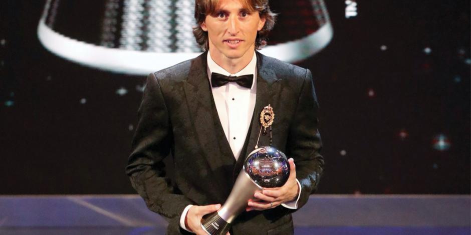 Modric acaba con reinado de CR7 y Leo Messi en premios The Best