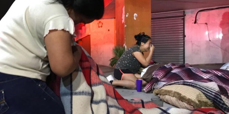 Mueren 2 ancianas durante incendio en asilo en Monterrey