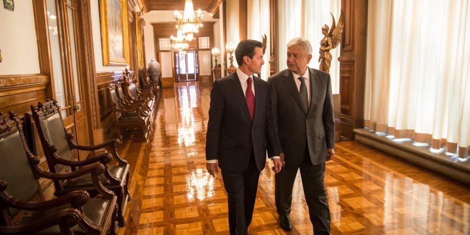 Se confirma reunión entre EPN y AMLO en Palacio Nacional