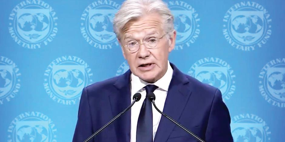 FMI llama a evitar golpe económico