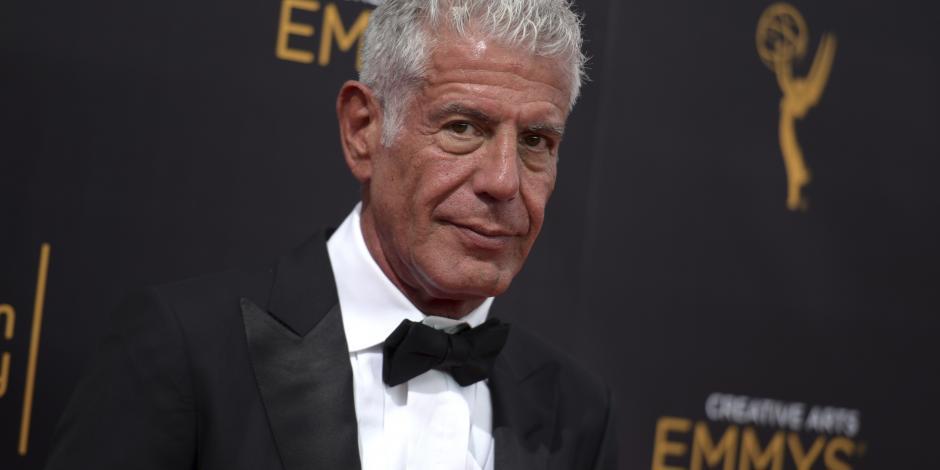 Recibe Bourdain 7 nominaciones póstumas al Emmy