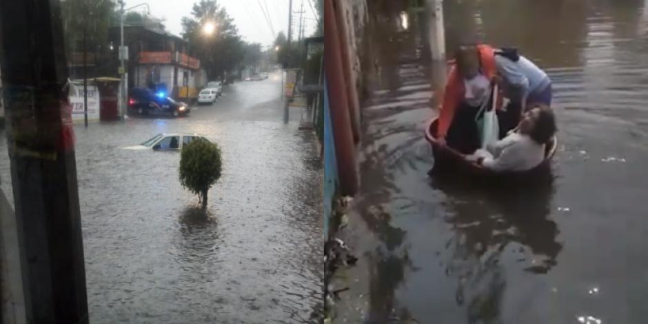 VIDEO: SSP coordina acciones de rescate; en redes piden más apoyo en Tlalpan